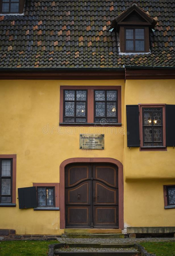 Bach House Germany stock photos