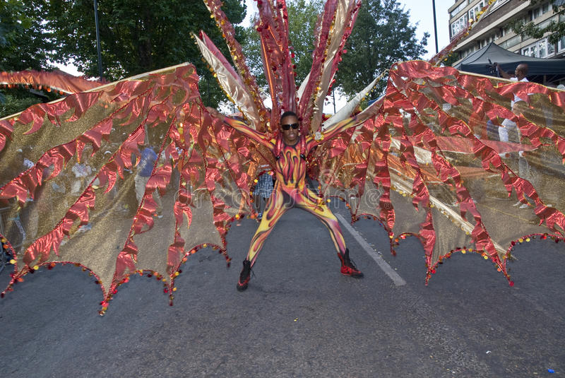 bachanalia舞蹈演员浮动 免版税图库摄影