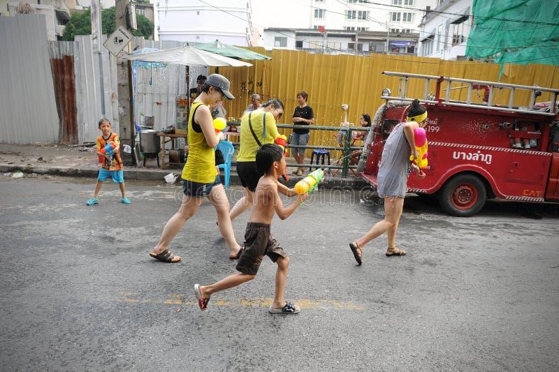 Tajlandzki nowy rok - Songkran zdjęcie royalty free