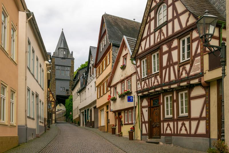 Bacharach, Γερμανία στοκ εικόνα με δικαίωμα ελεύθερης χρήσης