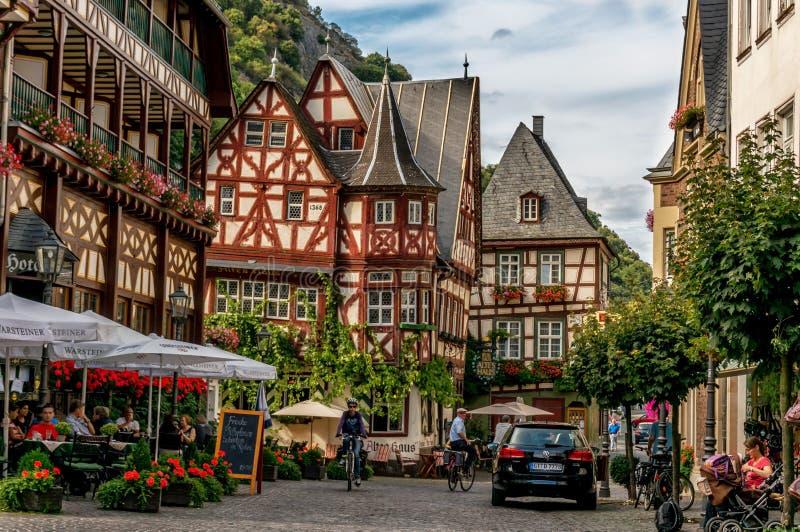 Bacharach στη Γερμανία στοκ φωτογραφίες με δικαίωμα ελεύθερης χρήσης