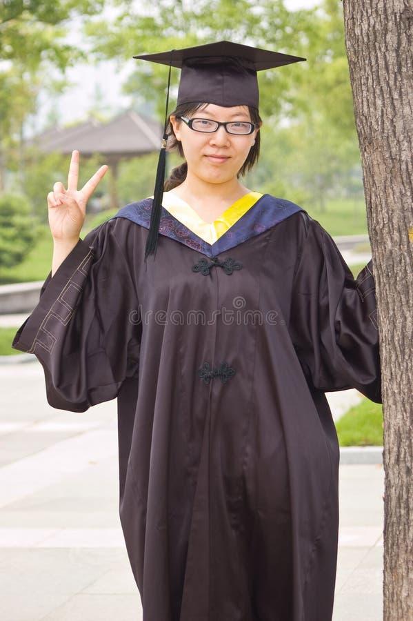 Bachelor of China stock image