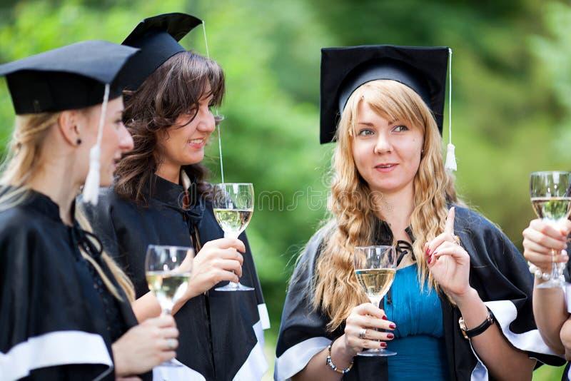 Download Bachelor Graduates Celebrate Stock Photo - Image: 25768320