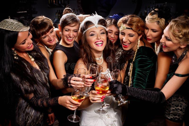 Bachelorette przyjęcie fotografia royalty free