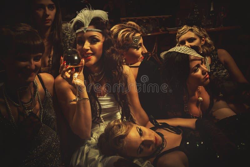 Bachelorette przyjęcie obrazy royalty free