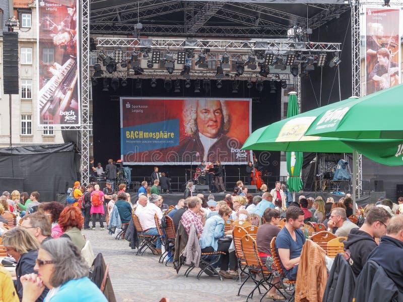 Bachfest Lipsia immagine stock libera da diritti
