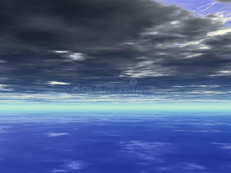 bachground天空 库存照片