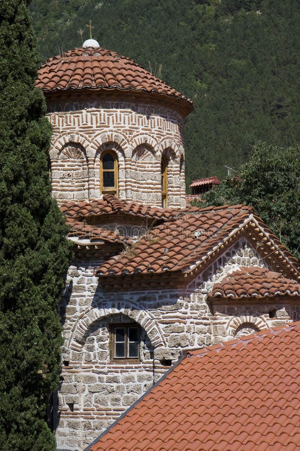 Bachkovo monasery, Bulgarien stockfotografie