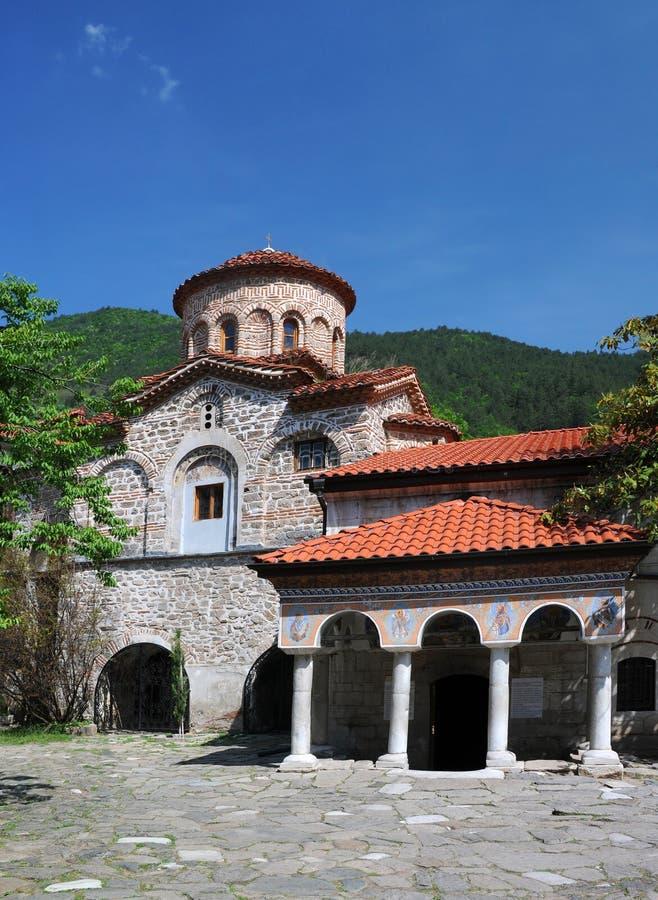 Bachkovo Monaster ortodoksalny Kościół zdjęcia stock