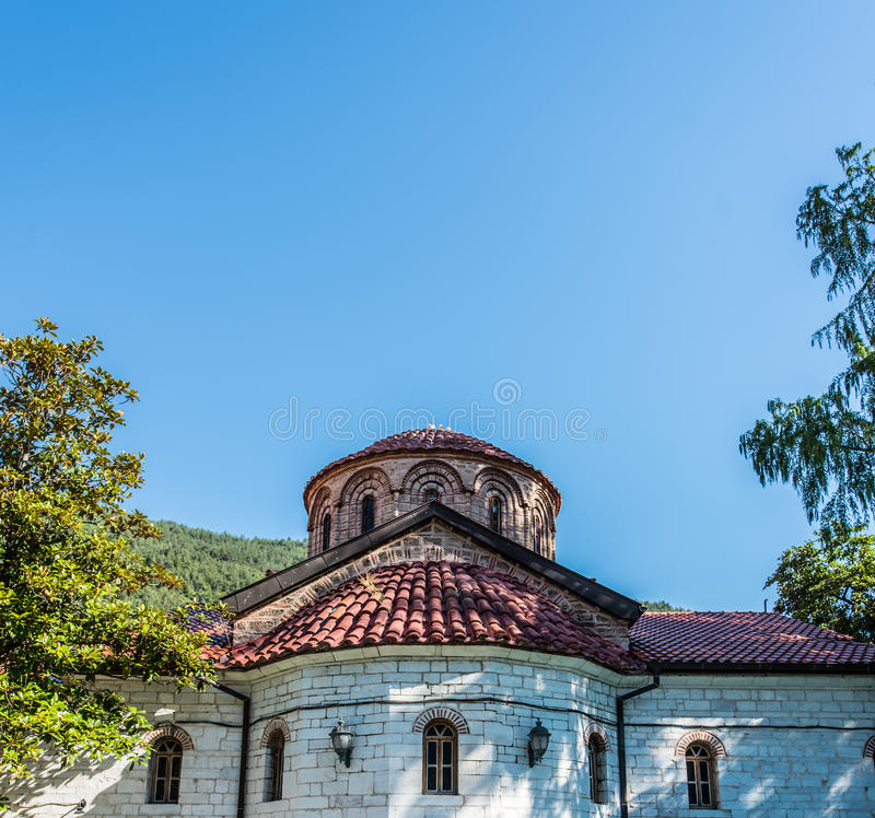 Bachkovo monastery. The Bachkovo Monastery Dormition of the Holy Mother of God (Bachkovski manastir), archaically the Petritsoni Monastery or Monastery of the royalty free stock photography