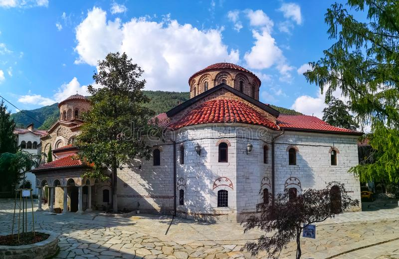 Bachkovo monastery. The Bachkovo Monastery Dormition of the Holy Mother of God Bachkovski manastir, archaically the Petritsoni Monastery or Monastery of the royalty free stock image
