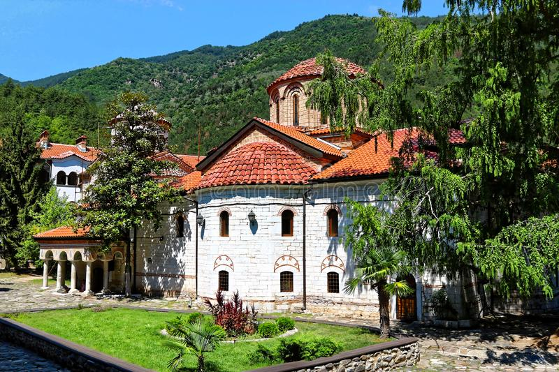 The Bachkovo Monastery Dormition of the Holy Mother of God, Bulgaria.  royalty free stock images