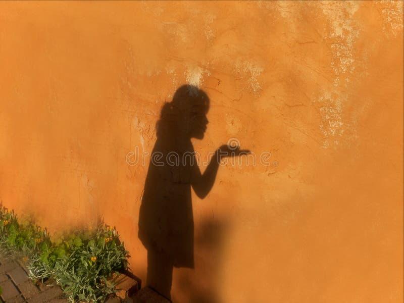 Baci dell'ombra immagini stock