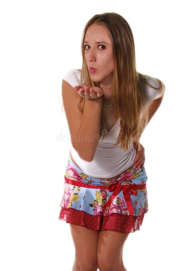 Download Baci di salto fotografia stock. Immagine di skirt, giovane - 221406