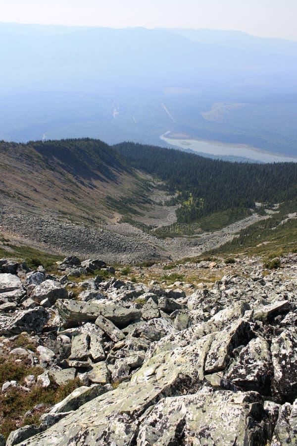 Bacia & vale da montanha fotos de stock