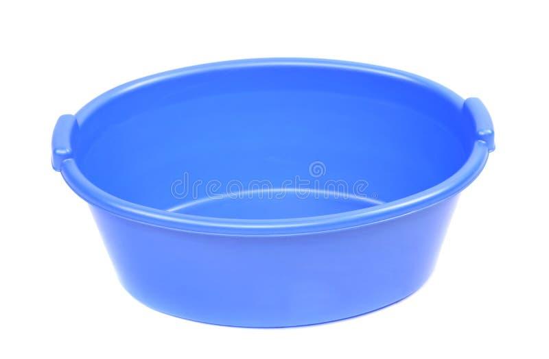 Bacia azul foto de stock
