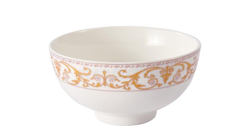 Bacia cerâmica fotografia de stock