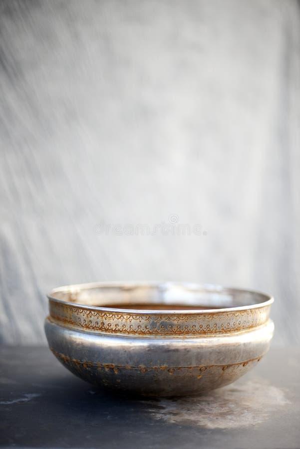 Bacia da arte de Ayurveda imagem de stock royalty free