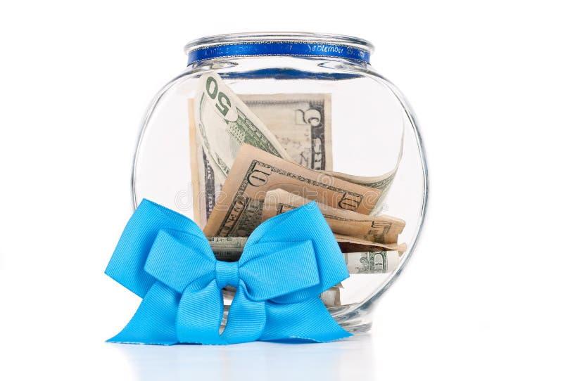 Bacia da doação da caridade foto de stock royalty free