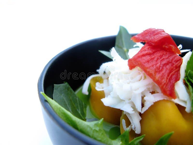 Bacia de alimento italiano imagem de stock royalty free