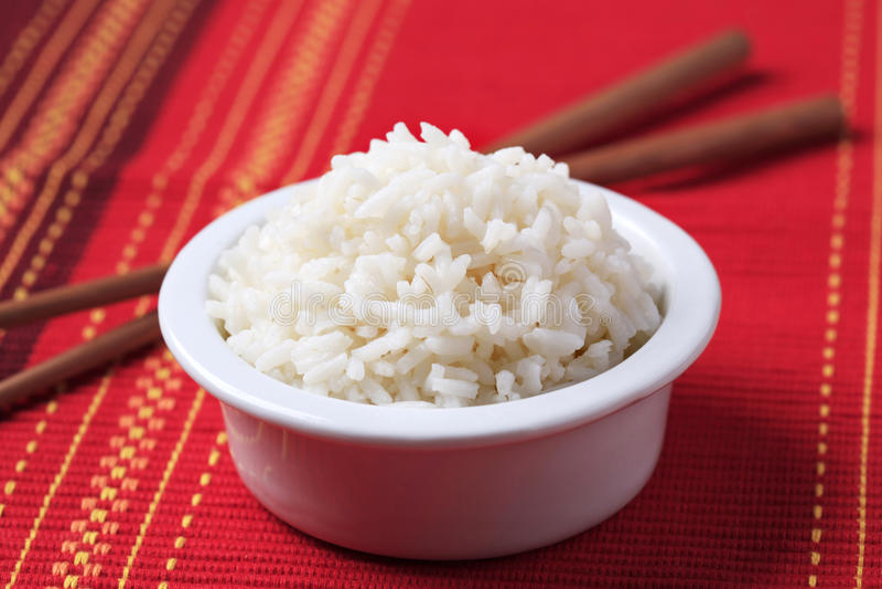 Bacia de arroz fotos de stock royalty free