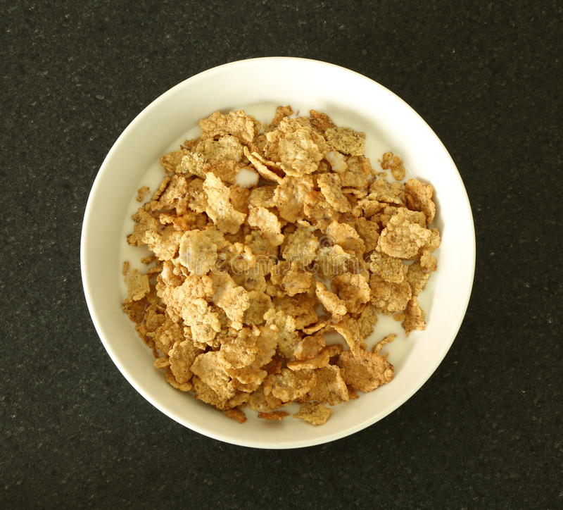 Bacia de cereal fotografia de stock