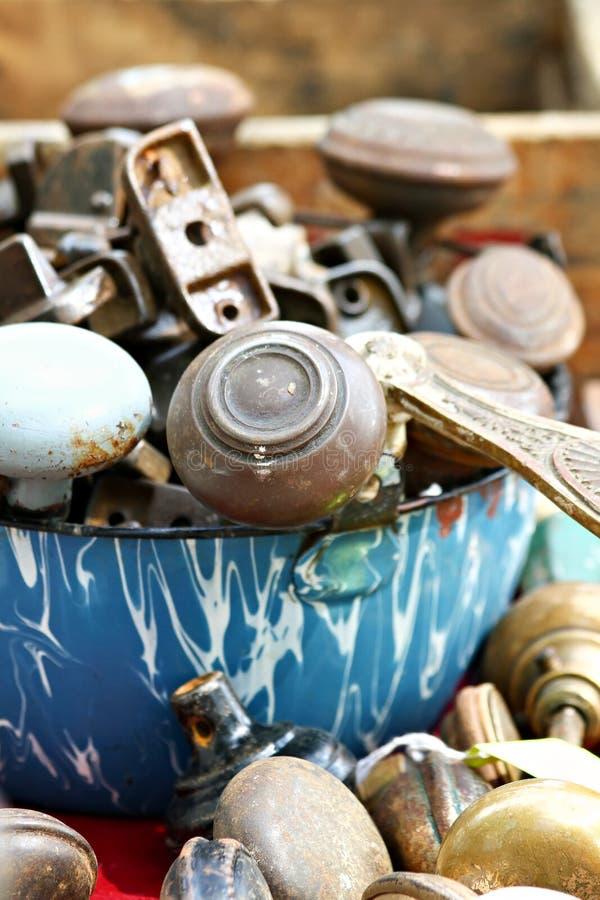 Bacia de Doorknobs imagens de stock