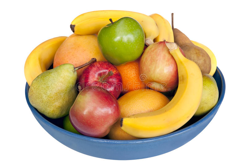 Bacia de fruta fotos de stock royalty free