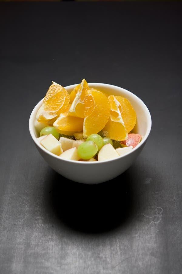 Bacia de fruta fotografia de stock