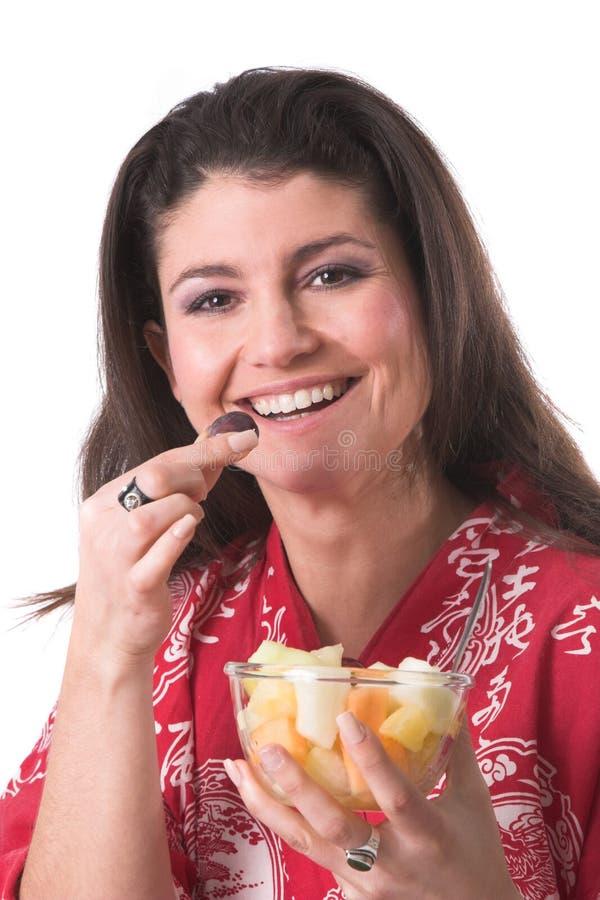 Bacia de fruta saudável fotos de stock