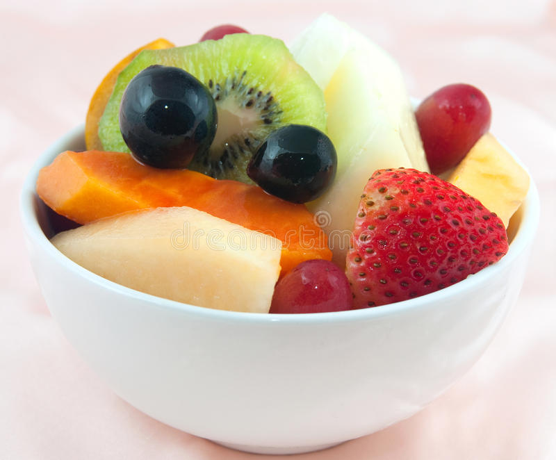 Bacia de frutas fotografia de stock royalty free