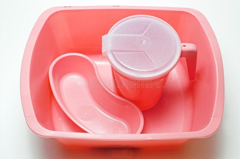 Bacia de lavagem médica fotografia de stock