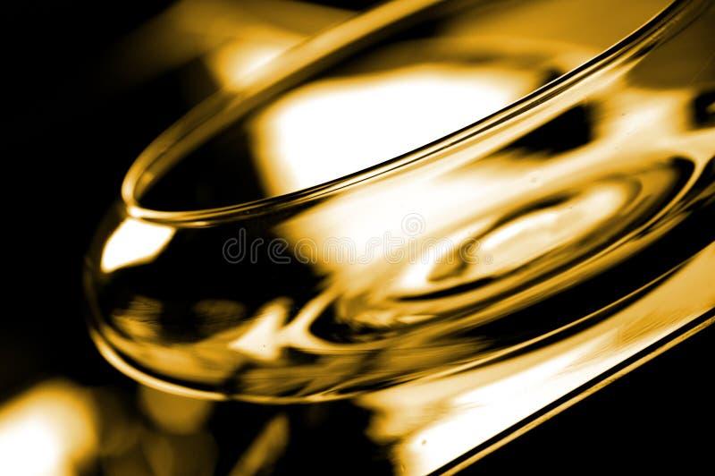 Bacia de vidro imagens de stock