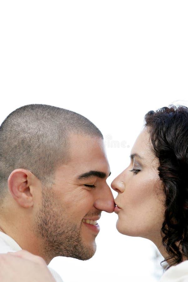Baciando sul radiatore anteriore fotografia stock libera da diritti