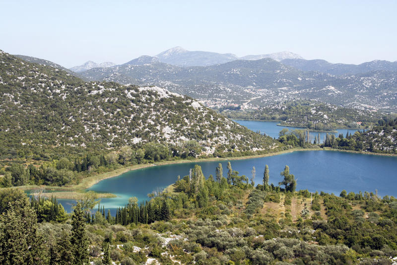 Bacina Lakes royalty free stock photography