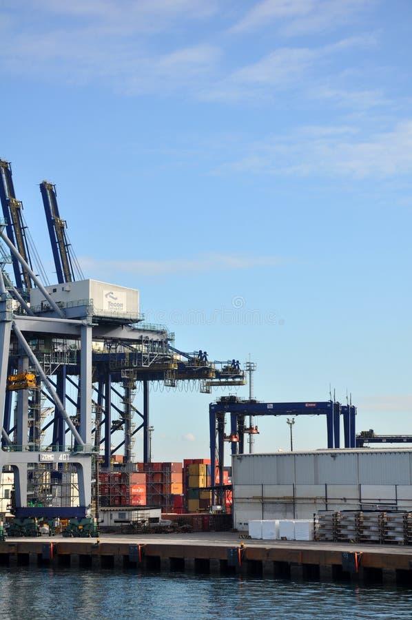 Bacini in porto di Salvador immagini stock