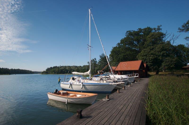 Bacino 11 della barca della Svezia immagine stock