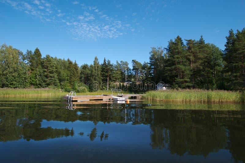 Bacino 4 della barca della Svezia fotografia stock libera da diritti