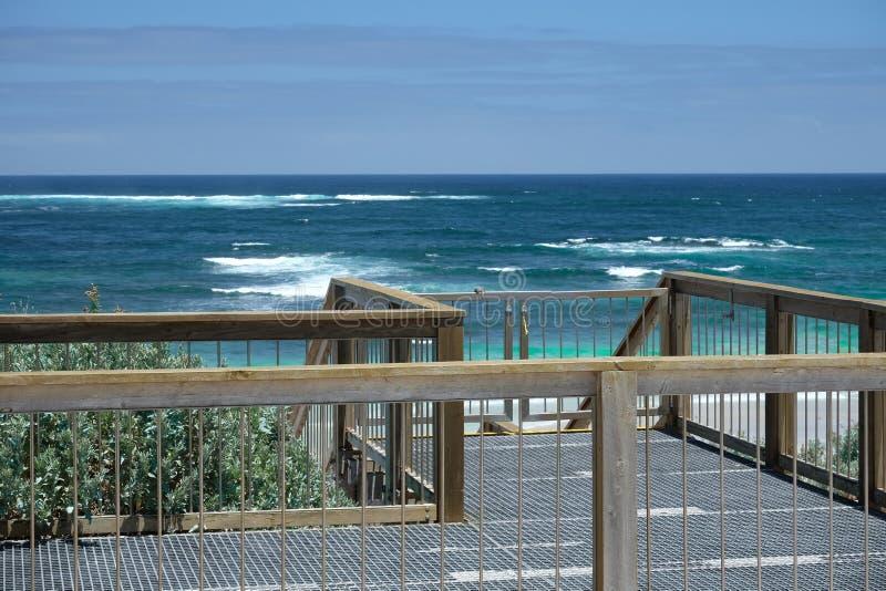 Bacino al mare in Australia immagini stock