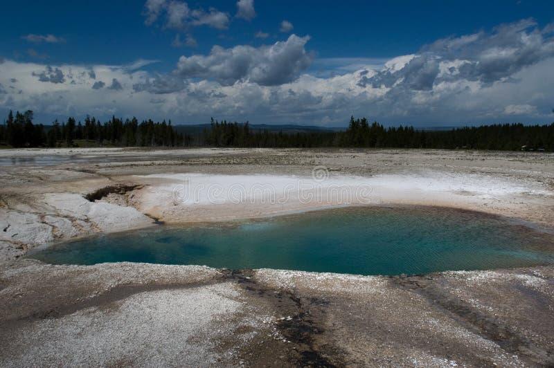 Download Bacino blu immagine stock. Immagine di idrotermale, vulcano - 202693
