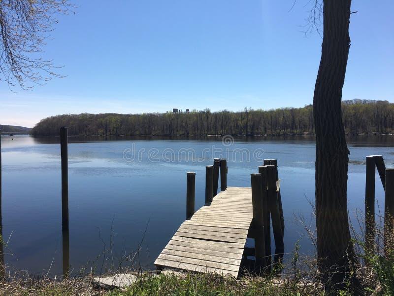 Bacino del fiume Connecticut fotografia stock