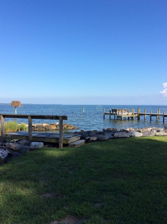 Bacino della baia di Chesapeake fotografia stock libera da diritti