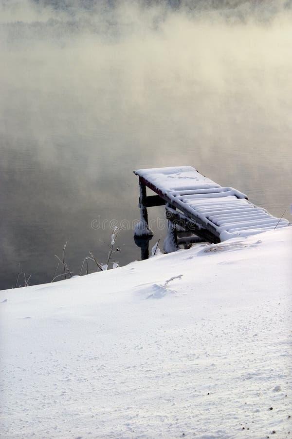 Bacino di inverno fotografia stock libera da diritti