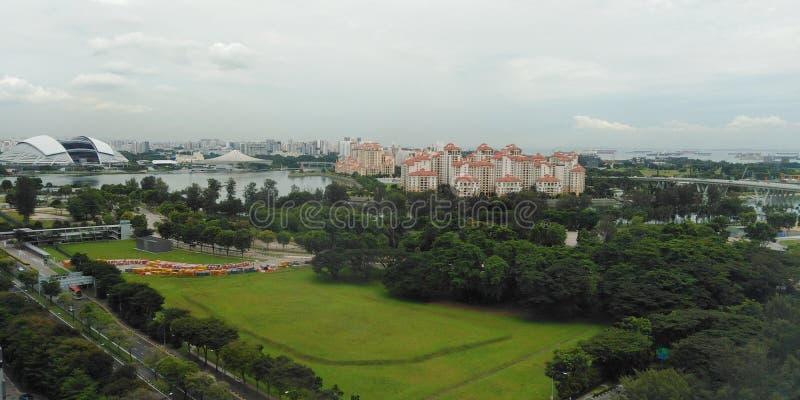 Bacino di Kallang, Singapore fotografie stock