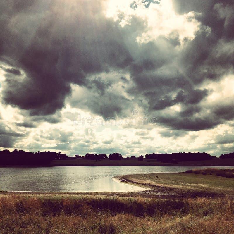 Bacino idrico di Blithfield fotografia stock