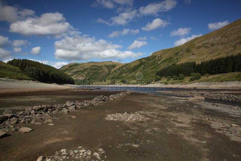 Bacino idrico di Haweswater fotografia stock