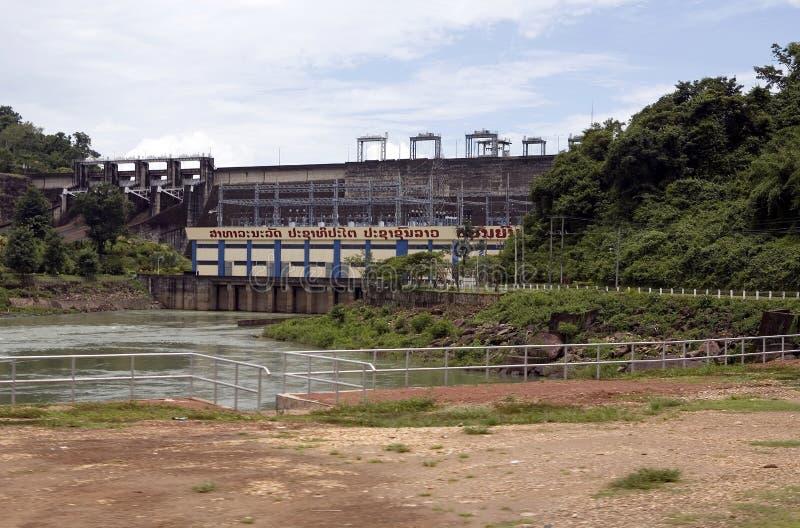 Bacino idrico di Nam Ngum, Laos immagini stock
