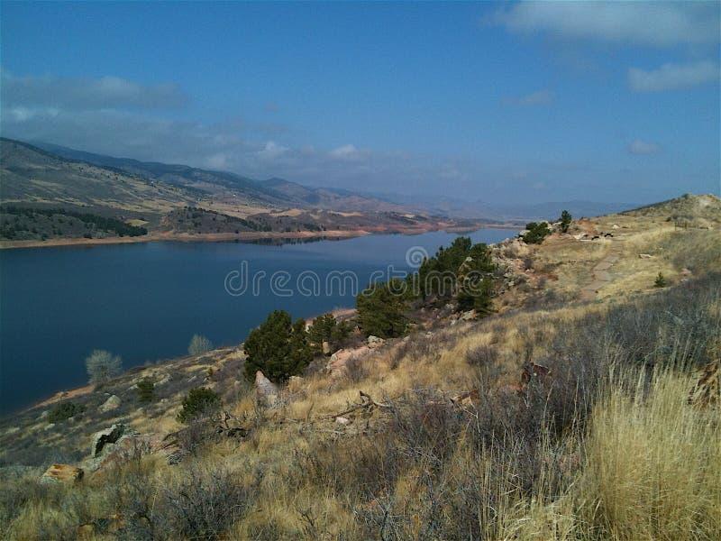Bacino idrico di Rocky Mountain fotografia stock