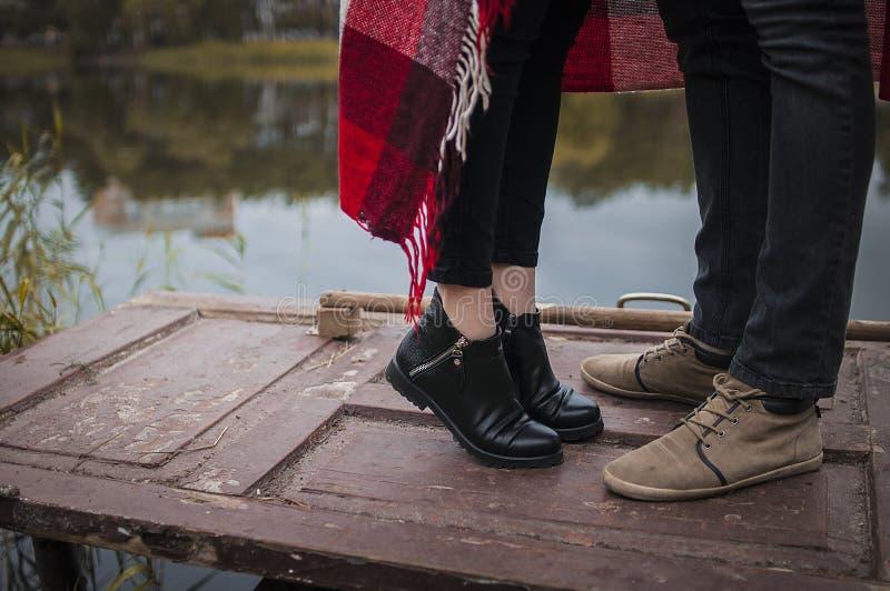 Bacio di amore fotografia stock libera da diritti