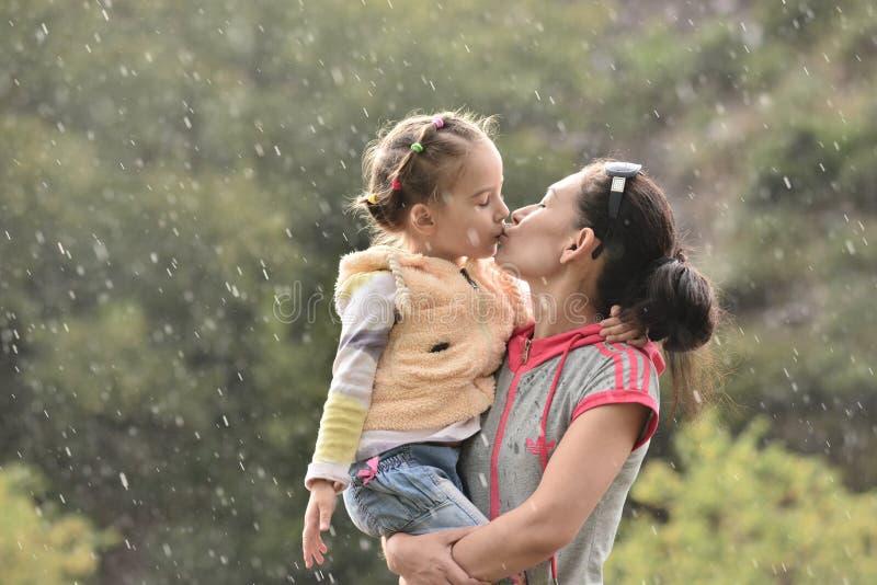 Bacio dolce fotografie stock libere da diritti